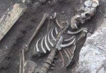 scheletro roma