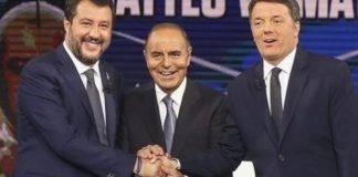 Confronto Salvini-Renzi