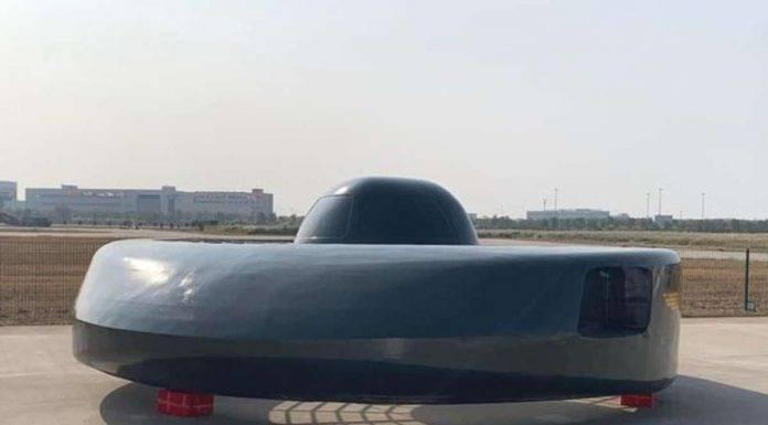 Elicottero a forma di ufo