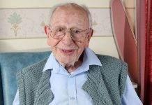 La storia del nonnino che ha 107 anni