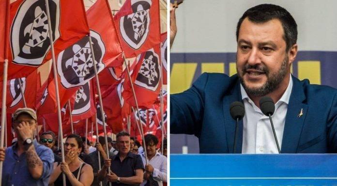 Manifestazione Lega 19 ottobre Roma