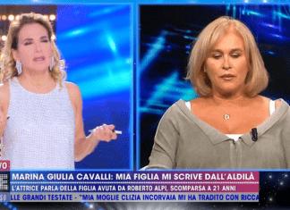 Marina Giulia Cavalli a Live-Non è la d'Urso