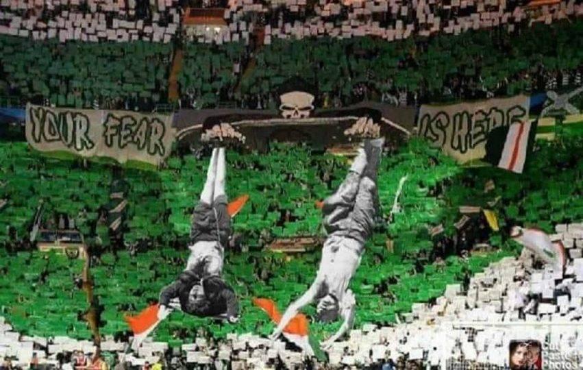 L'antifascismo dei tifosi del Celtic