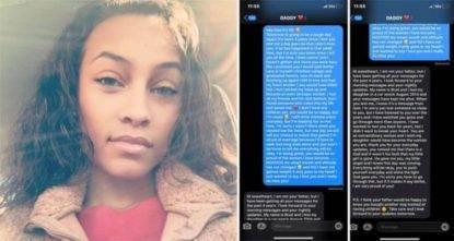 Manda messaggi a suo padre morto: dopo quattro anni riceve una risposta