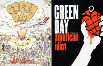 dookie american idiot green day