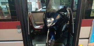 scooter sull autobus