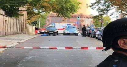 sparatoria sinagoga morti