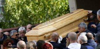 Funerali Luca Sacchi