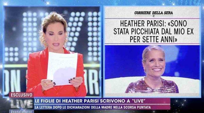 Heather Paris, lettera figlie