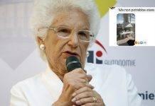 Liliana Segre ed il commento becero