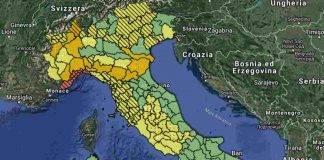 Meteo, allerta rossa Liguria