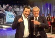 Salvini e Giletti