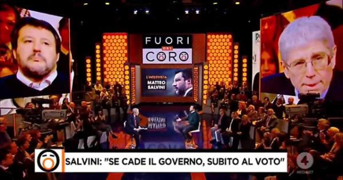 Salvini apre a Draghi