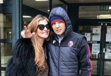 Sinisa Mihajlovic e Arianna Rapaccioni