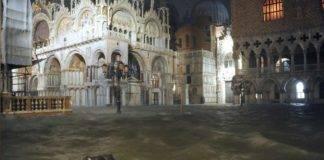 Venezia, danni Basilica di San Marco