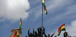 Poliziotti ammutinati in Bolivia
