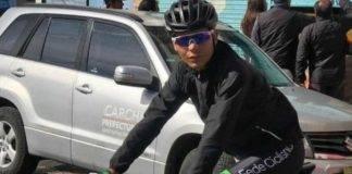 ciclista morto