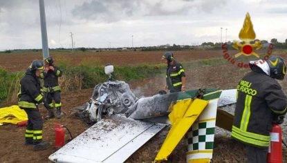 incidente aereo ultraleggero bimotore