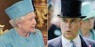 regina Elisabetta principe Andrea