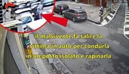 Rapina anziana a Catania
