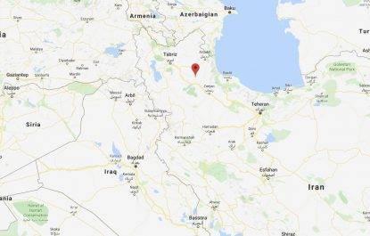 Forte sisma in Iran