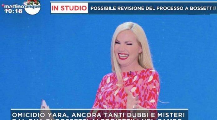 Federica Panicucci gaffe