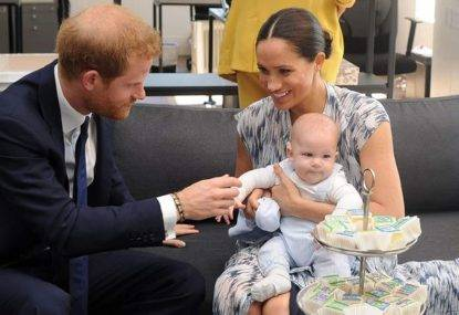 Megan Markle e il royal baby