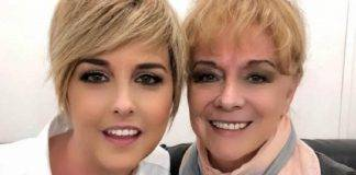 Nadia Toffa e mamma Margherita