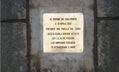 Pietra d'inciampo a Roma per il ragazzino annegato con la pagella