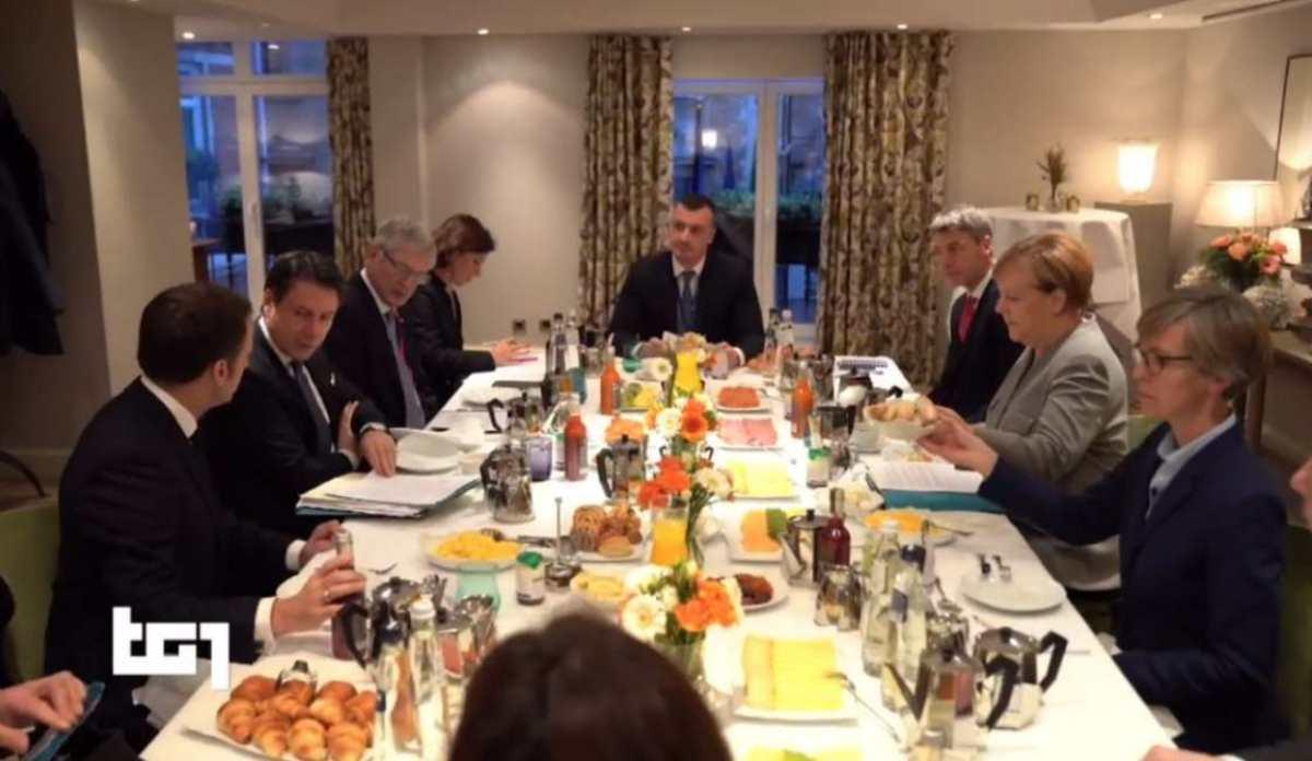 Vertice trilaterale Francia Germania Italia: la foto con Roc