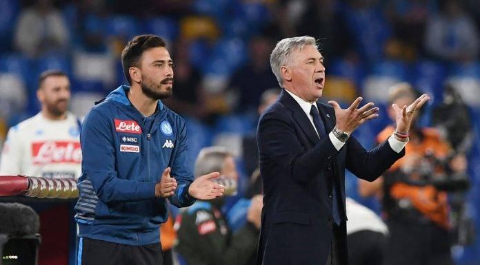 Ancelotti alla guida del Napoli