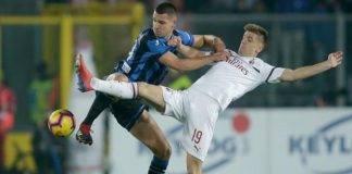 I bergamaschi sfidano il Milan.