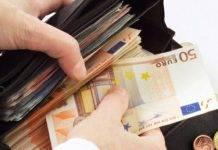 borsello con soldi