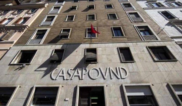 CasaPound, arriva il sequestro della sede romana di Via Napo