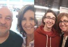 famiglia con tumore