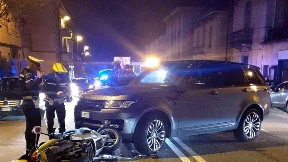 Incidente stradale a Como, coinvolto l'ex interista Ivan Cor