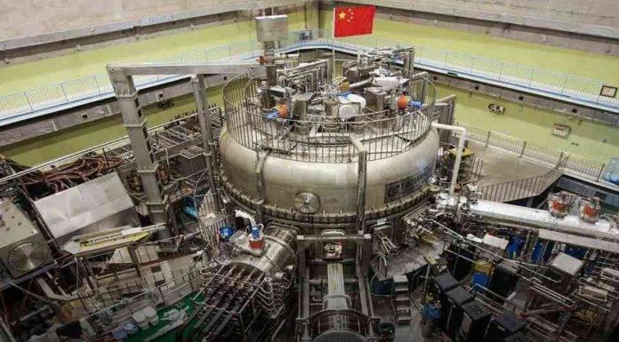 Cina prepara il reattore a fusione nucleare