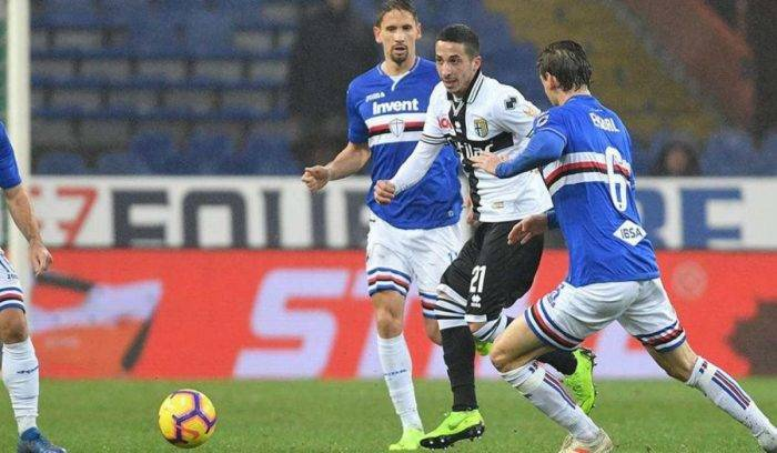 Sampdoria Parma, dove vedere la partita in diretta TV e in s