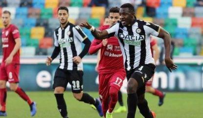 L'Udinese sfida il Cagliari.