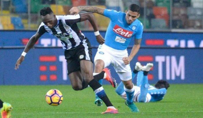 Udinese Napoli, dove vedere la partita in diretta TV e in st