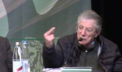 Matteo Salvini replica a Umberto Bossi