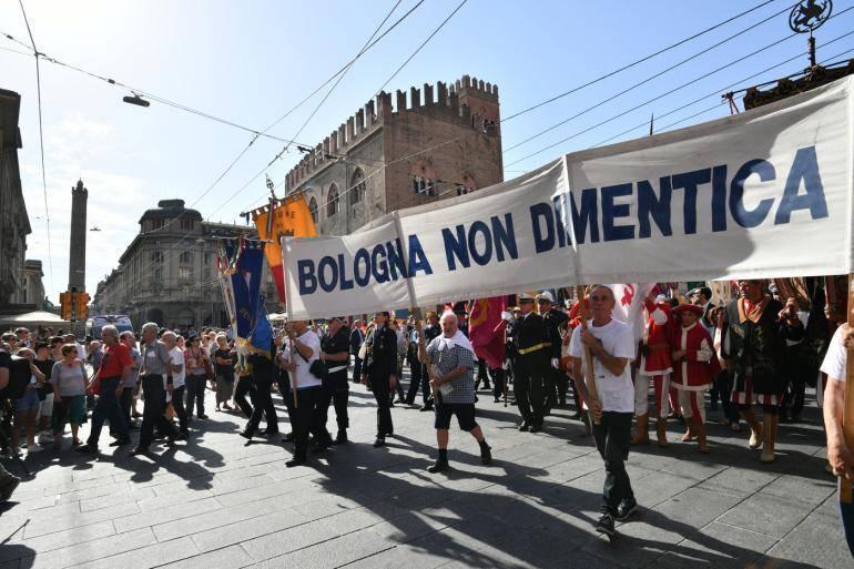 Manifestazione strage di bologna