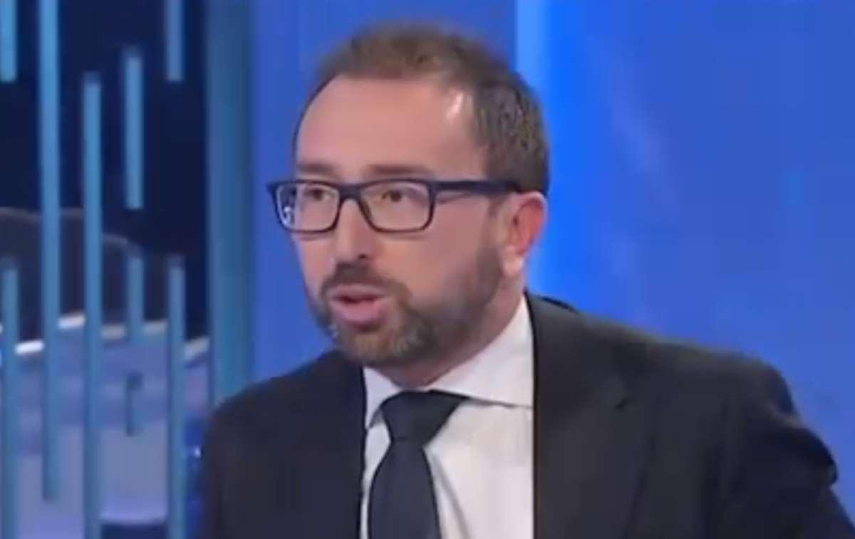 Ministro Bonafede nella bufera per la frase pronunciata a 'O
