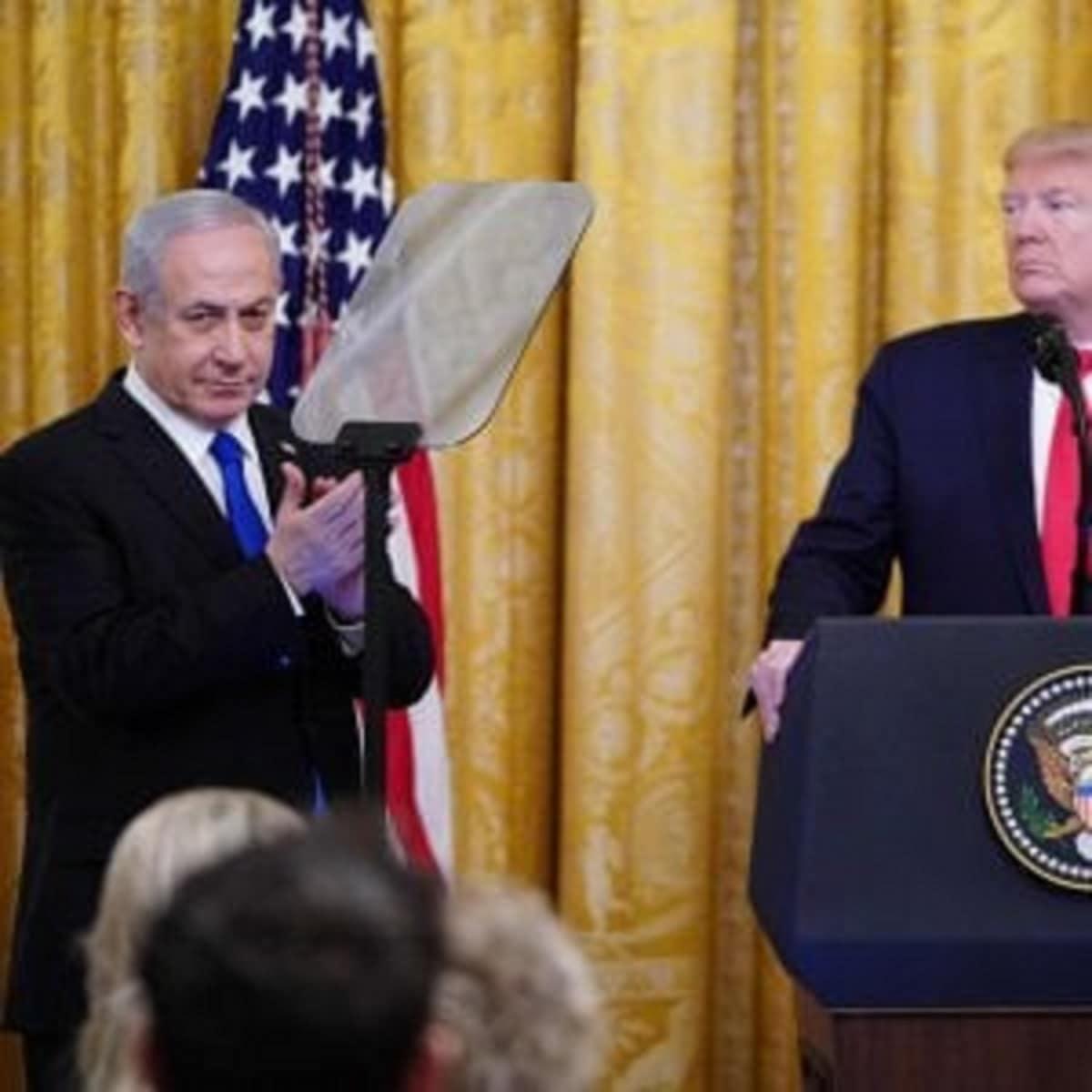 Pace in medio oriente, pessimo inizio: Trump presenta un pia