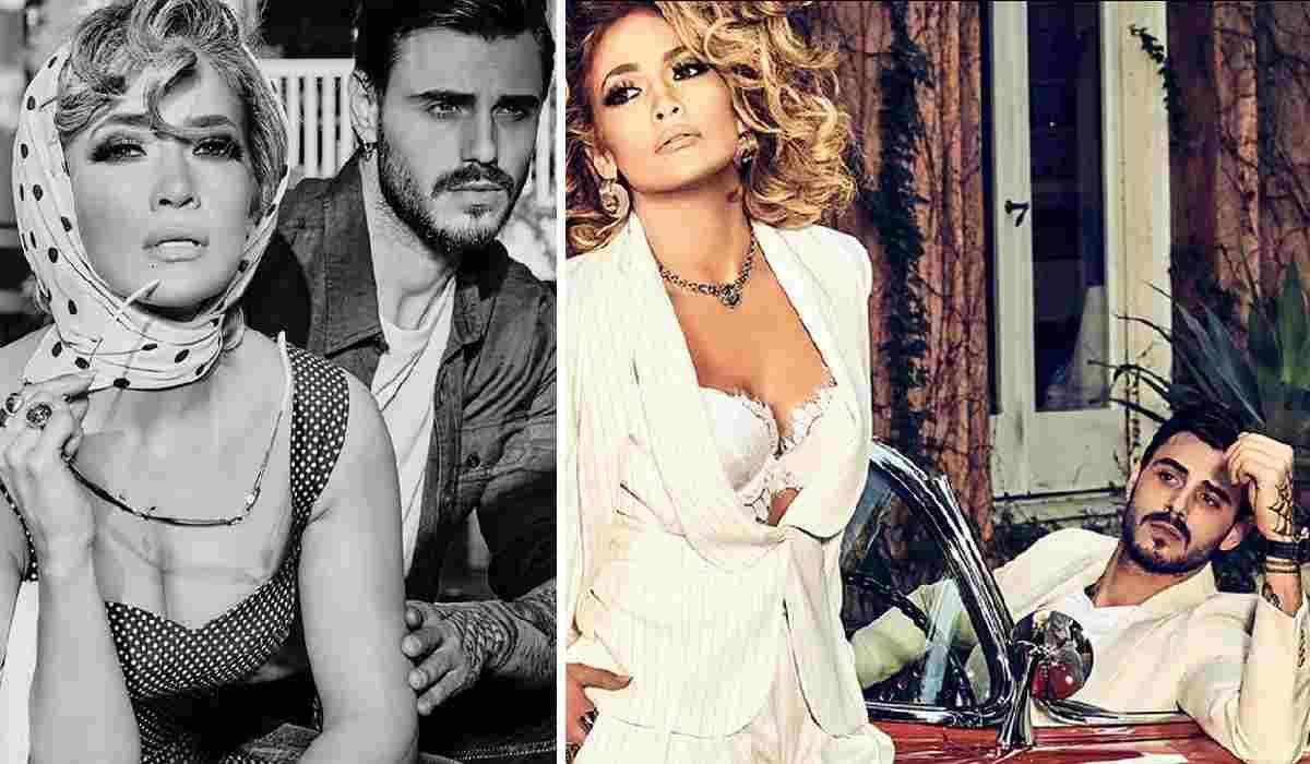 Francesco Monte insieme a Jennifer Lopez per una campagna pu