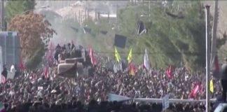 Conseguenze suicide dell'attacco in Iran