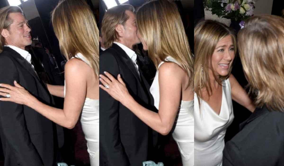 Jennifer Aniston e Brad Pitt di nuovo insieme? Il bacio tant