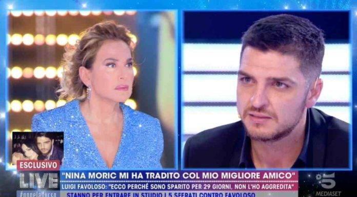 Luigi Favoloso, Live-Non è la d'Urso