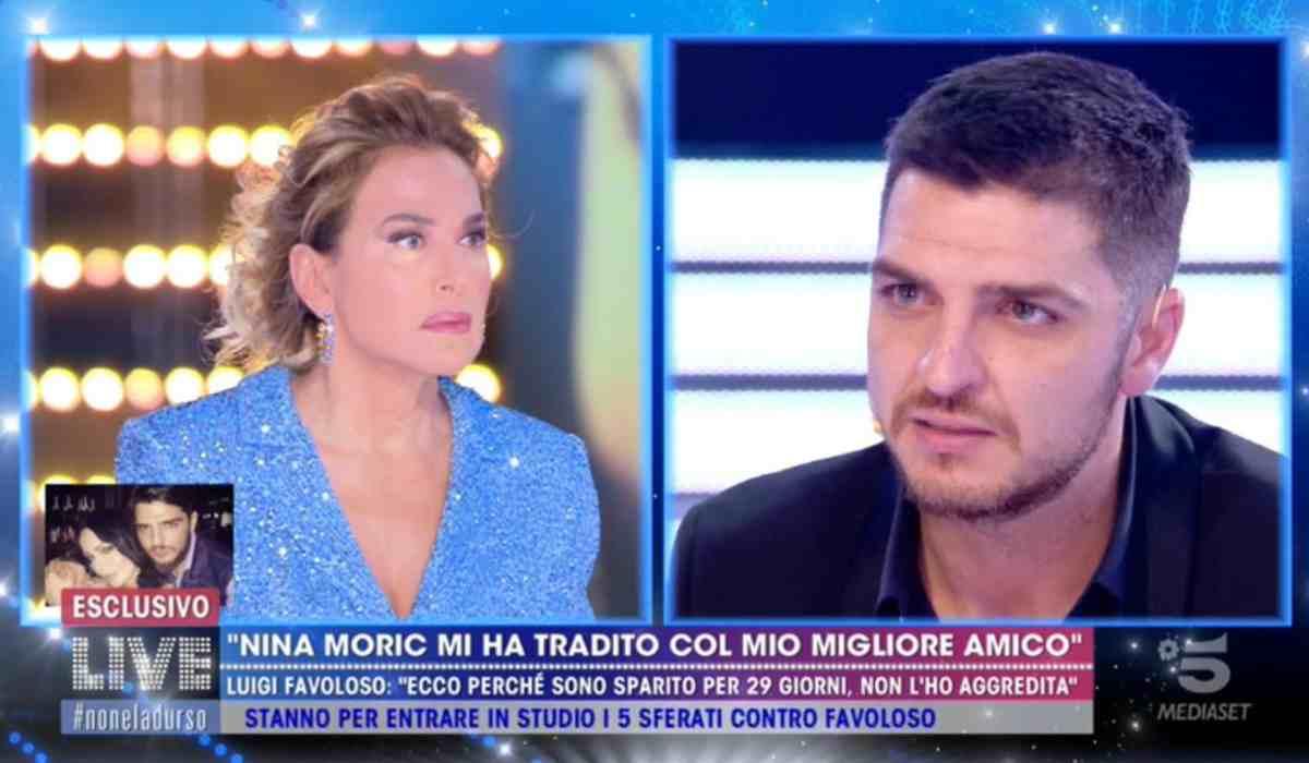 """Luigi Favoloso a Live Non è la d'Urso svela: """"Ecco perché so"""