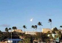 Palla di fuoco su Puerto Rico